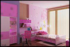 Bộ sưu tập nội thất phòng trẻ em (Phần 3) ~ Thiết Kế Thi Công Kiến Trúc Nội Thất