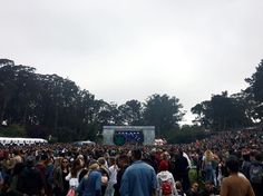 A #TBT to music  &  at Outside Lands in San Francisco
