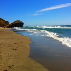 Playa del Mogul, Parque Natural del Cabo de Gata. I could get lost here for few days