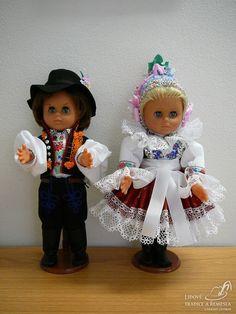 Krojovaná panenka - ostrožský pár 2