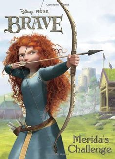 Merida's Challenge (Disney/Pixar Brave) (Deluxe Coloring Book) ** For more information, visit image link.