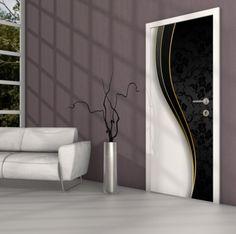 Sehr Türbilder selbstklebend Möbel & Wohnen Holztür Folien 716658  MT43