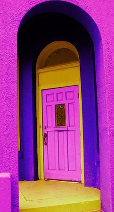 This door can be found at the Paseo Arts District in Oklahoma City.