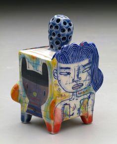 """Kevin Snipes. """"Ura Freak"""" Box. Porcelain."""
