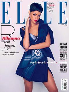Rihanna's UK ELLE Magazine Cover