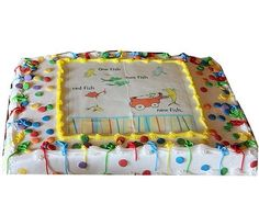 How to Plan a Dr. Seuss-Themed Baby Shower: Dr. Seuss Baby Shower Cake