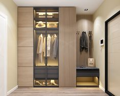 Scandinavian Hallway on Behance Foyer Staircase, Interior Architecture, Interior Design, Scandinavian Kitchen, Architecture Visualization, Classic Style, Kitchen Design, Bedroom, Behance