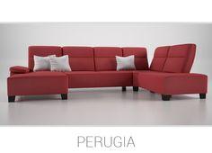 PERUGIA – Jedinečná sedačka v tvare U. Ideálna voľba pre veľkú rodinu či partiu priateľov. Váš interiér bude s ňou už navždy miestom s neobyčajnou atmosférou, ktorú táto sedacia súprava svojím dizajnom a veľkosťou Vášmu domovu dodá.