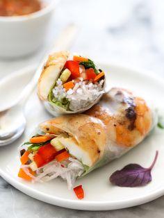 """""""Grilled Shrimp Vietnamese Spring Roll"""""""