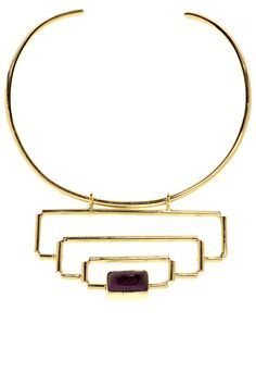 Anndra Neen choker, $495, shopBAZAAR.com.   - HarpersBAZAAR.com
