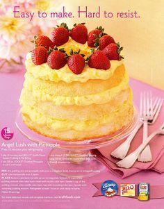 Favorite....angel lush cake!