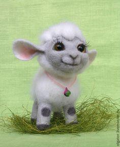 """Игрушки животные, ручной работы. Ярмарка Мастеров - ручная работа Овечка""""Милашка"""". Handmade."""