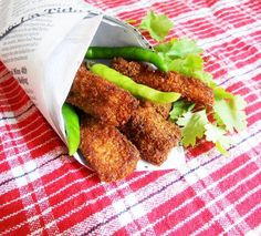 Homemade Fish Fingers - Summertime Recipes - Kids Menu - Lunch