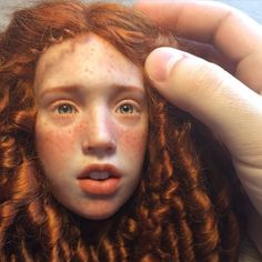 #art #bjd #craftdoll #doll #dollmaker #polymerclay #LivingDoll #redhead #handmade #шарнирнаякукла #ручнаяработа #полимернаяглина