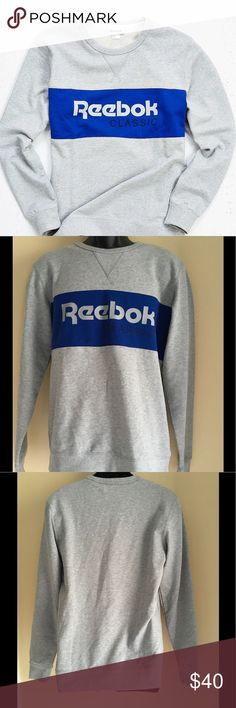 Reebok Foundations Archive Stripe Sweatshirt Reebok Foundations Archive Stripe Sweatshirt. New without tags. Carried at Urban Outfitters Reebok Sweaters Crew & Scoop Necks