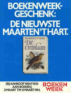 Boekenweekgeschenk 1984 : De ortolaan www.bibliotheeklangedijk.nl