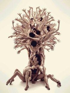 Árvore humana...