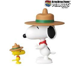 A companhia japonesa Medicom Toy colocou em pré-venda a terceira série de bonecos de vinil UDF (Ultra Detail Figure) das tiras em quadrinhos Peanuts, escritas por Charles M. Schulz. A coleção UDF Peanuts Series 3 tem 5 novos bonecos da turma com roupas e posições diferentes: Dr. Snoopy UDF vestido com roupas de médico cirurgião…