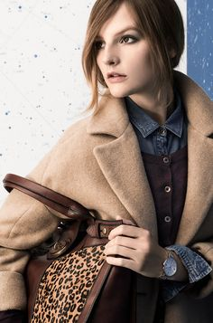 #Fossil Holiday 2013 Lookbook #fossilstyle Fossil Jacqueline, Daily Look, Winter Wardrobe, Style Icons, Fashion Forward, What To Wear, Beautiful People, Winter Fashion, Fashion Looks
