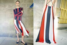 Tendência: Atualize as listras (Foto: Reprodução) Stripes, Block Prints, Trends, Pictures