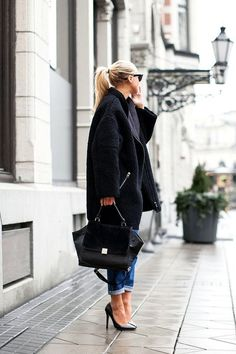 Love this business street style.