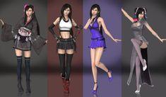 Final Fantasy Chronicles, Final Fantasy Girls, Final Fantasy Characters, Final Fantasy Vii Remake, Fantasy Series, Tifa Ff7 Remake, Adult Anna Costume, Tifa Cosplay, Cloud And Tifa