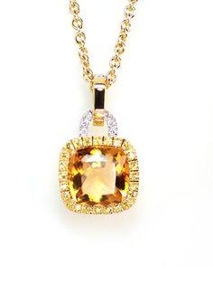 citrine. This is Mirra's birthstone. Its so pretty