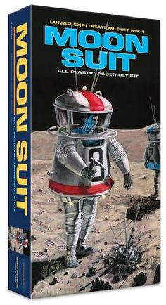 Monarch Models - Moon Suit - 2016 - kit now sadly cancelled