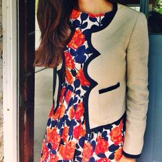 Great dress and jacket combo