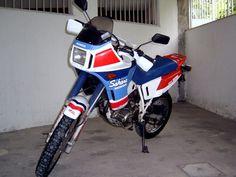 Honda Sahara XLX 350 branca 1992 [na garagem de 1993 a 1996]