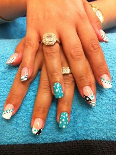 crazy fingernail designs | The Nail Den crazy nail designs