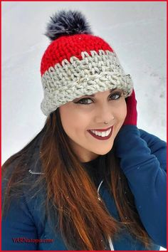 FREE Written Crochet Pattern: New Year, New Me Chunky Hat - YARNutopia by Nadia Fuad