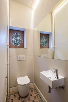 Casa Robermont - Stanza da bagno padronale. Photo: Piero Cruciatti ...