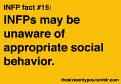 There's an appropriate social behavior?