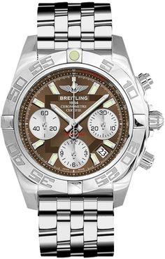 Men watches : Breitling Chronomat 41 Automatic Chronograph Mens Watch Breitling Chronomat 41 AB014012/Q583-378A