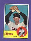 1963 Topps Don Larsen San Francisco Giants #163 Baseball Card