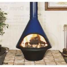 This custom fireplace ships out in 4-6 weeks. When ordering a porcelain finish, this item's lead time is 10-12 weeks. Manual Make a bold statement or simply accessorize your home with the Malm Lancer Wood Burning Fireplace. This dazzling, custom finish fireplace is certain to catch your eye and warm your home with its unique cone shape. The Lancer is not limite...