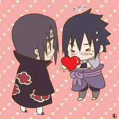 Image uploaded by Viktuuri_OnIce. Find images and videos about naruto shippuden, sasuke uchiha and bromance on We Heart It - the app to get lost in what you love. Itachi Uchiha, Madara And Hashirama, Sasuke Sakura Sarada, Naruto Shippudden, Naruto Cute, Naruto Shippuden Sasuke, Sasuke Chibi, Anime Chibi, Kawaii Chibi