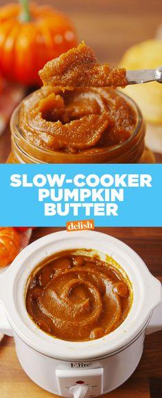 Sow Cooker Pumpkin ButterDelish