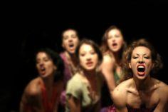 """""""Il Duca delle Prugne"""" by Aldes Roberto Castello.  #Theatre #Dance. VIE Scena Contemporanea Festival 2007"""