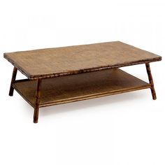 Crafted from bamboo with a tight weave top and shelf, these coffee tables will give your space a tropical feel. Shop at Alfresco Emporium! 5' Coffee Table, Great Rooms, Consoles, Beach House, Bamboo, Shelves, Live, Natural, Crafts