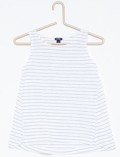 Camiseta estampada de punto sin mangas Chica a 4 996b4edb19e79