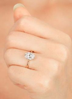 Your Heart Will Melt When You See These Oval Engagement Rings