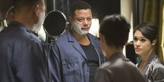 """Fox Network (January 28, 2015) TV series; """"Empire,"""" Season 1-Episode 4: - False Imposition - Lucious reveals to Anika that he has ALS."""