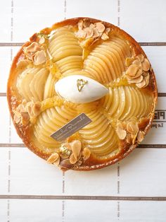 French Pear Tarte
