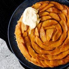 skinnymixer's Tarte Tatin (French Apple Tart) French Apple Tart, Classic French Desserts, Apple Filling, Sweet Pie, Savory Snacks, Paleo Dessert, Almond Recipes, Fabulous Foods, Tarte Tatin