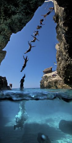 take a dive in jamaica
