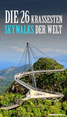 26 Skywalks & Aussichtsplattformen, bei denen uns der Atem stockt - http://www.travelbook.de/welt/Sind-Sie-schwindelfrei-Die-krassesten-Skywalks-der-Welt-287922.html