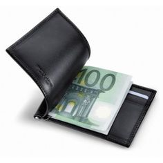 P-Cards-Clip Black Wallet