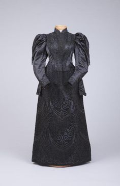 Dress 1895-1900 The Goldstein Museum of Design - OMG that dress!